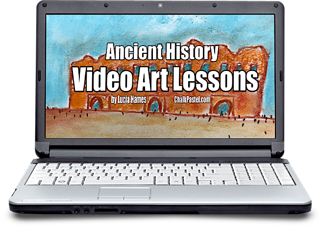 Ancient History Video Art Lessons