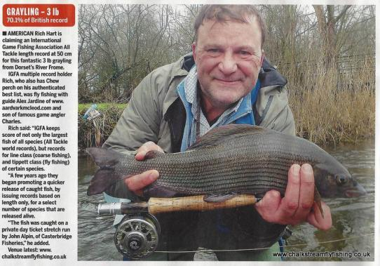 World Record Grayling