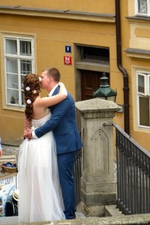 Bride and groom @ Prague