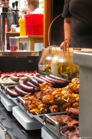 Prague sausages