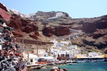 Ammoudi Bay with a view to Oia