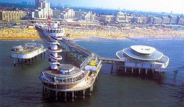 Scheveningen Pier, Niederlande, Holland, Middelburg, Zeeland