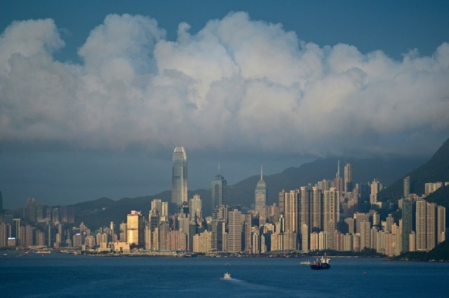 Vue de Hong Kong le 13 juin 2019 (AFP/Archives - Anthony WALLACE)