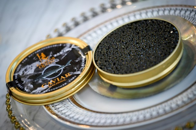 Le caviar chinois de Kaluga Queen, dégusté sur les tables étoilées.  (AFP - WANG ZHAO)