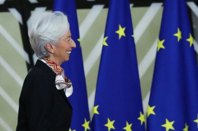 Christine Lagarde à Bruxelles le 13 décembre 2019 (AFP/Archives - ARIS OIKONOMOU)