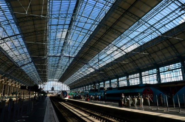 La gare de Bordeaux Saint-Jean, le 31 août 2020 (AFP/Archives - MEHDI FEDOUACH)