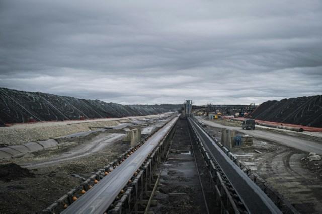 La mine Terrafame d'extraction de nickel et de cobalt, le 23 septembre 2020 à Sotkamo, en Finlande (AFP - Alessandro RAMPAZZO)