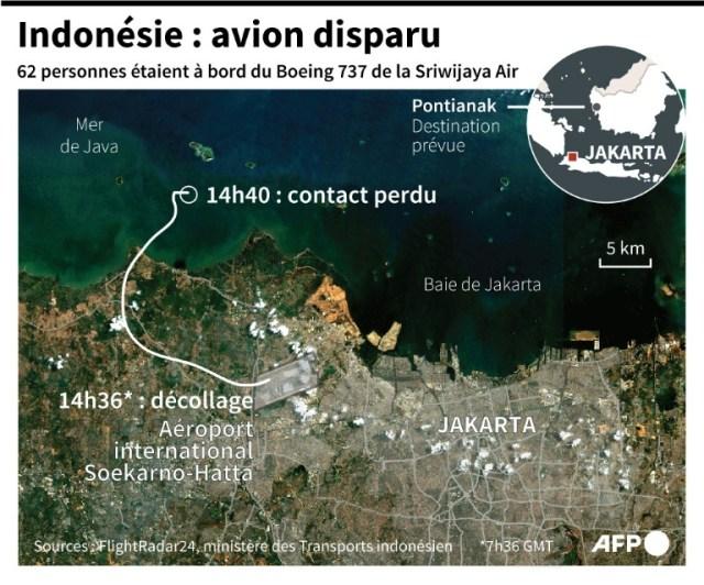 Indonésie : avion disparu (AFP - )