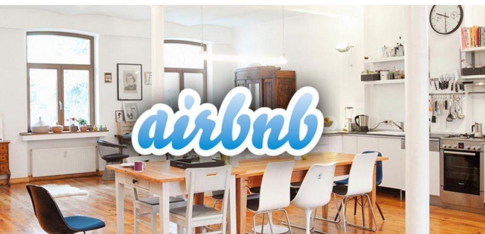 image de l ecran d accueil d airbnb