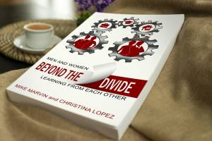 Beyond the Divide Book - with coffee