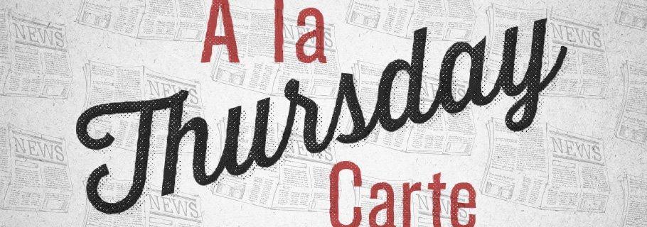 A La Carte (September 20)