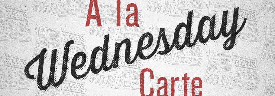 A La Carte (August 29)