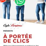 """Dépliant de la formation """"A portée de clics"""" à Chalonnes-sur-Loire"""