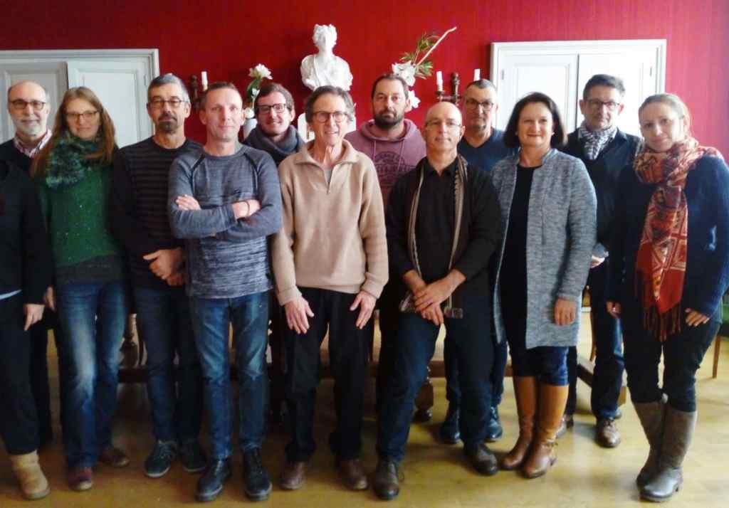 Les 14 agents recenseurs de Chalonnes