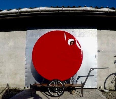 Vélo kiosque de la compagnie Dérézo