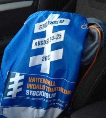 World triathlon Stockholm