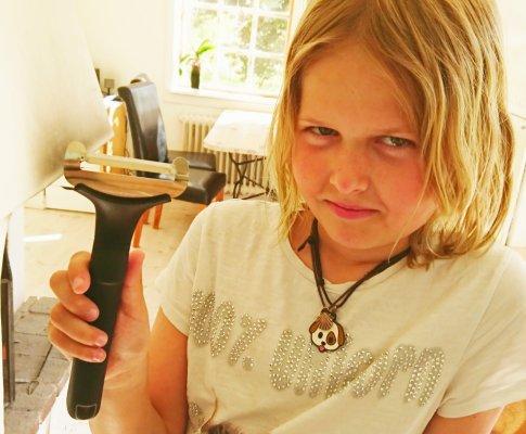 Mamma, du ska bre min macka