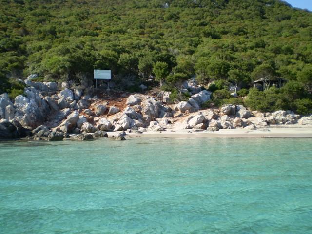Sapientza beach in Finikounda