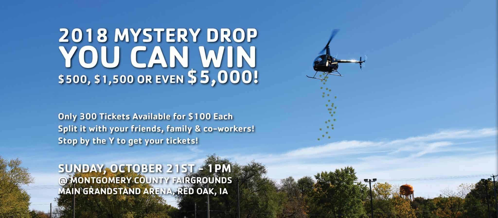 2018 YMCA Mystery Drop | Red Oak Chamber and Industry Association