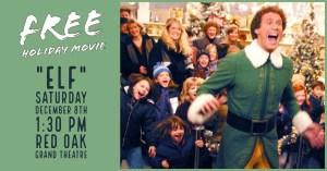 Free Holiday Movie Elf