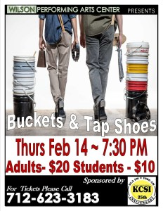 Buckets & Tap Shoes