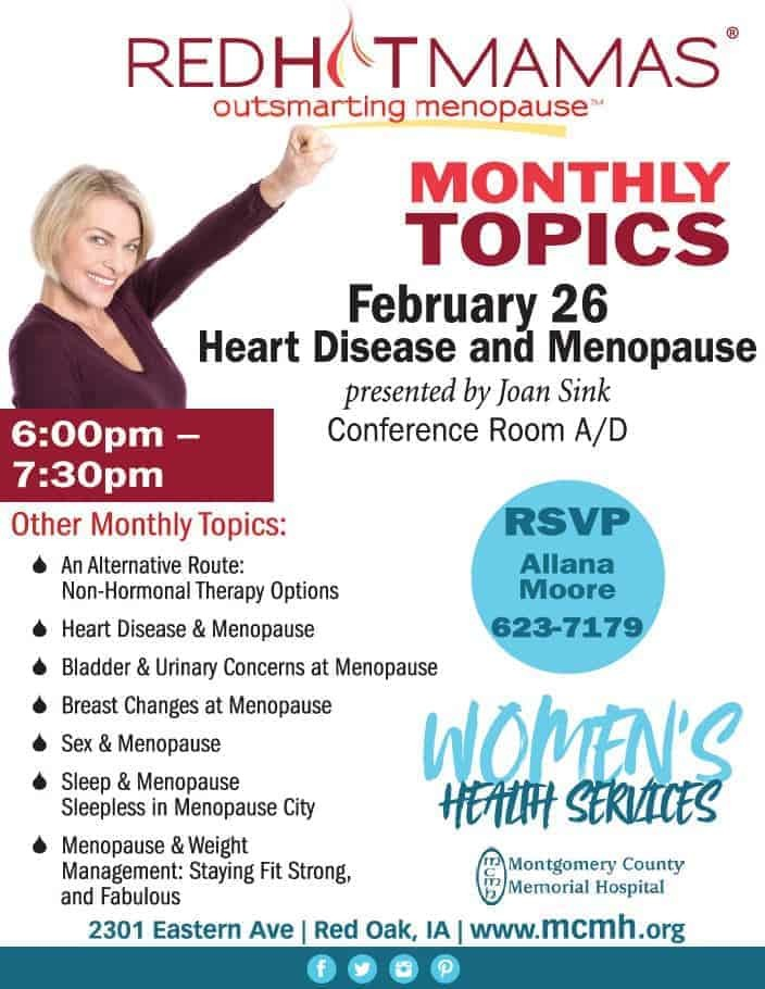 Red Hot Mamas Outsmarting Menopause