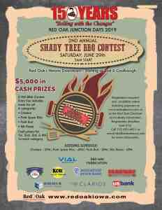 2nd Annual Shady Tree BBQ Contest