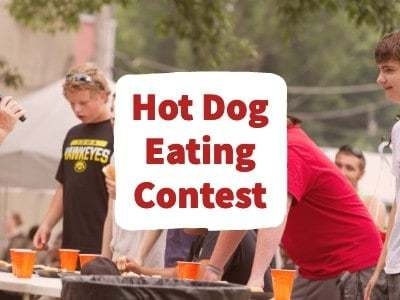 Junction Days Hot Dog Eating Contest