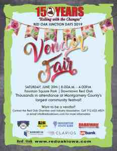 Red Oak Junction Days Vendor Fair