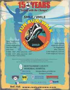 5 Mile / 2 Mile Fun Run & Walk