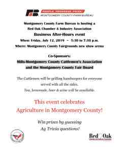 Business After Hours: Montgomery County Farm Bureau