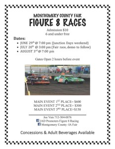 Figure 8 Races Poster 2019