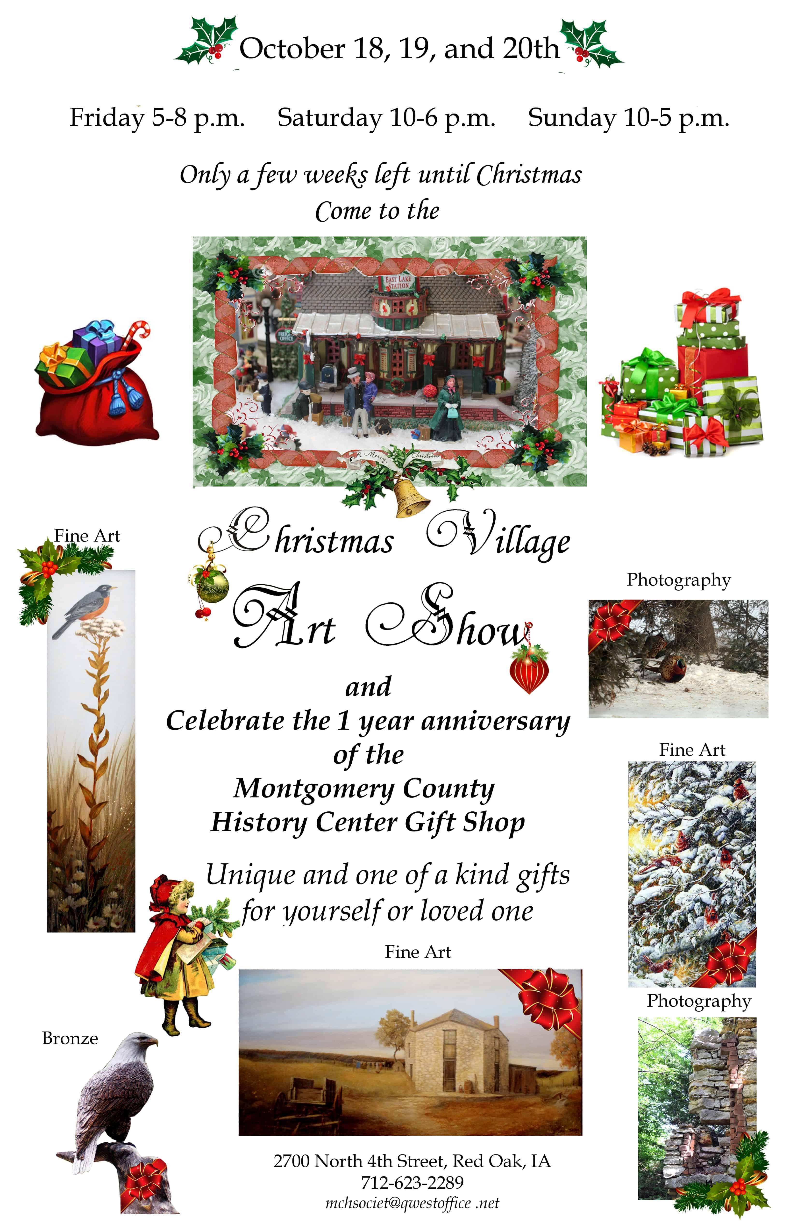 Christmas Village Art Show