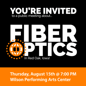 Public Fiber Optics Meeting in Red Oak