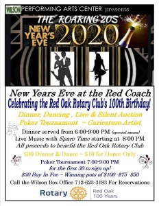 NYE at The Red Coach