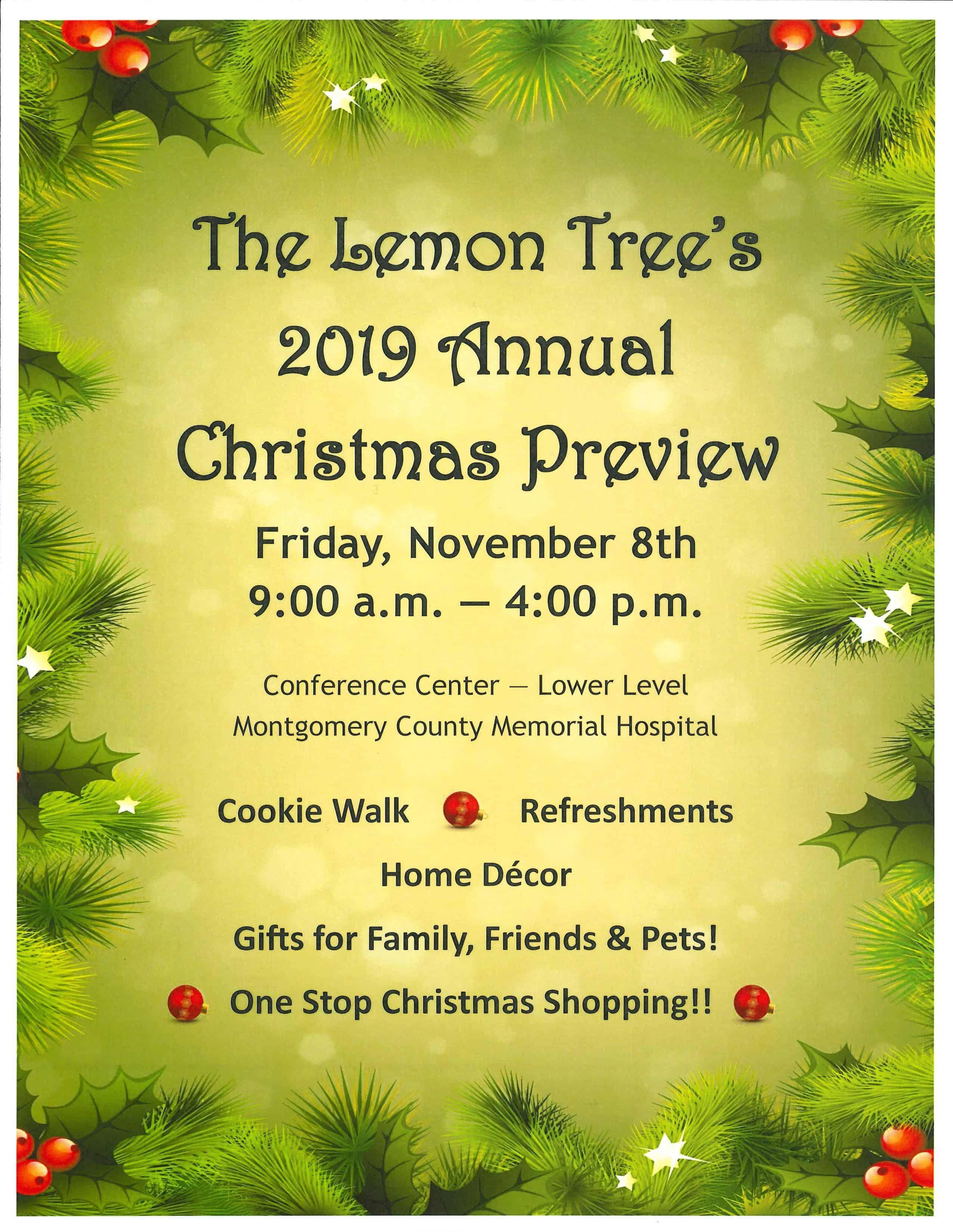 Lemon Tree Christmas Preview