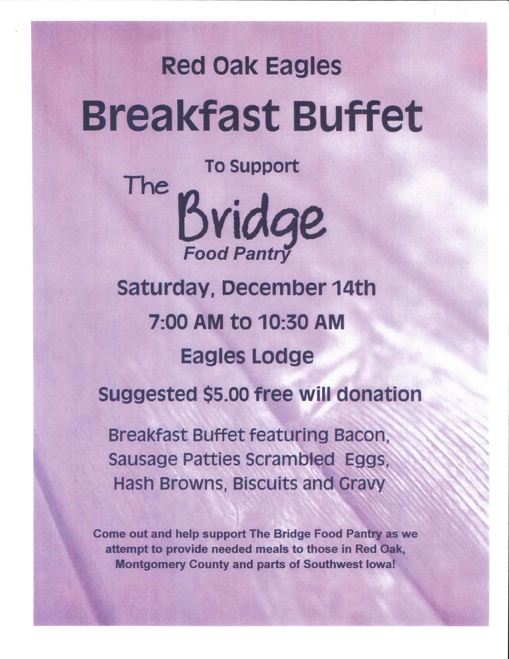 Eagles Breakfast Buffet