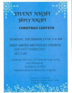 Silent Night Holy Night Christmas Cantata