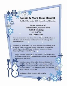 Bonnie and Mark Dunn Benefit