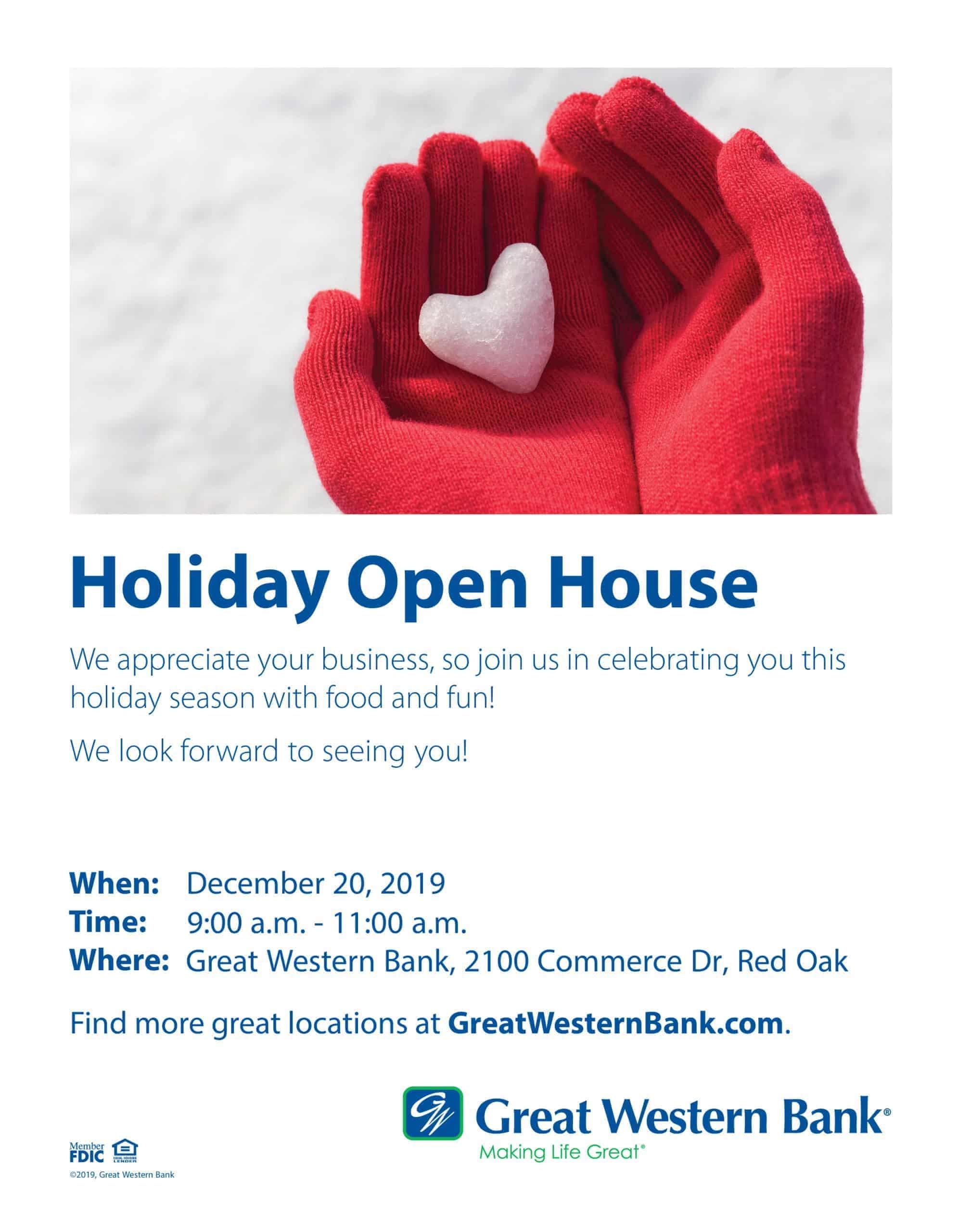GWB Open House