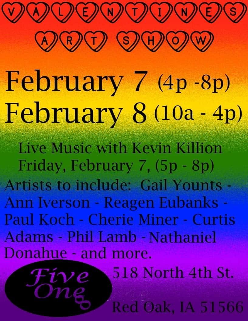 Valentines Art Show