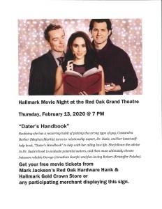 Hallmark Movie Night