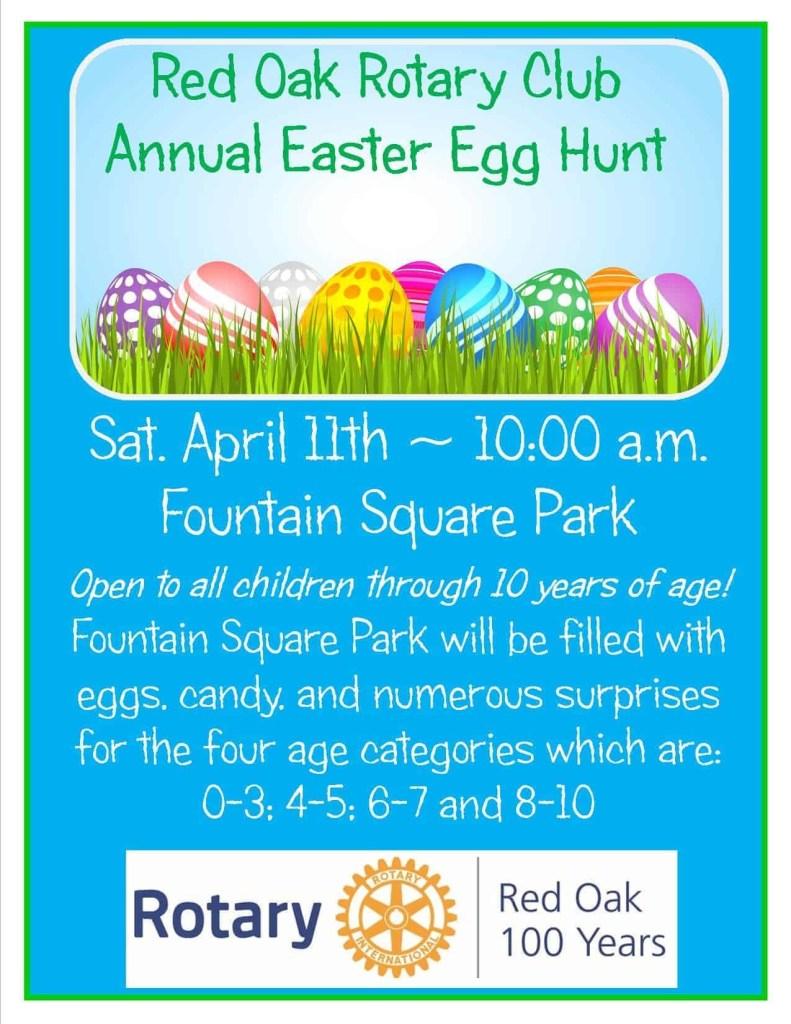 RO Rotary Easter Egg Hunt