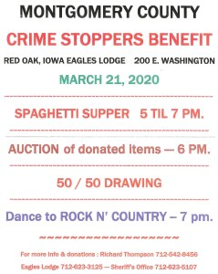 Mont. Co. Crime Stoppers Benefit