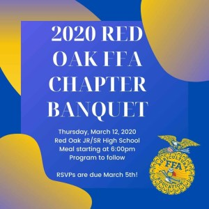 Red Oak FFA Banquet