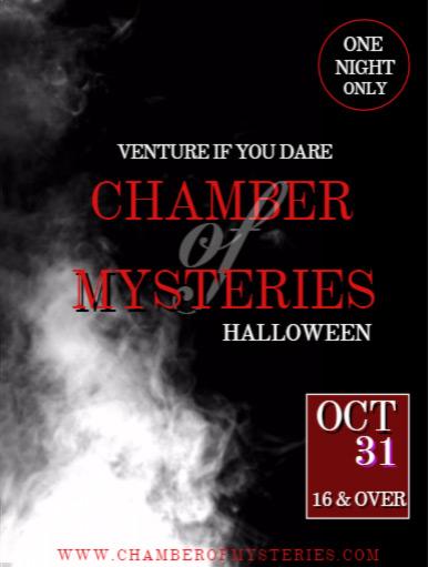 Chamber of Mysteries Halloween