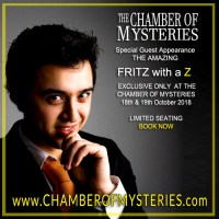 Fritz at the Chamber of Mysteries Dinner and Show