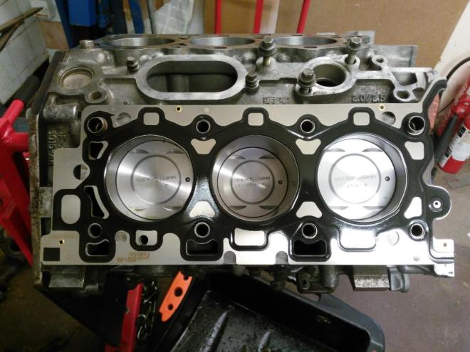 S-type v6 with gasket in place