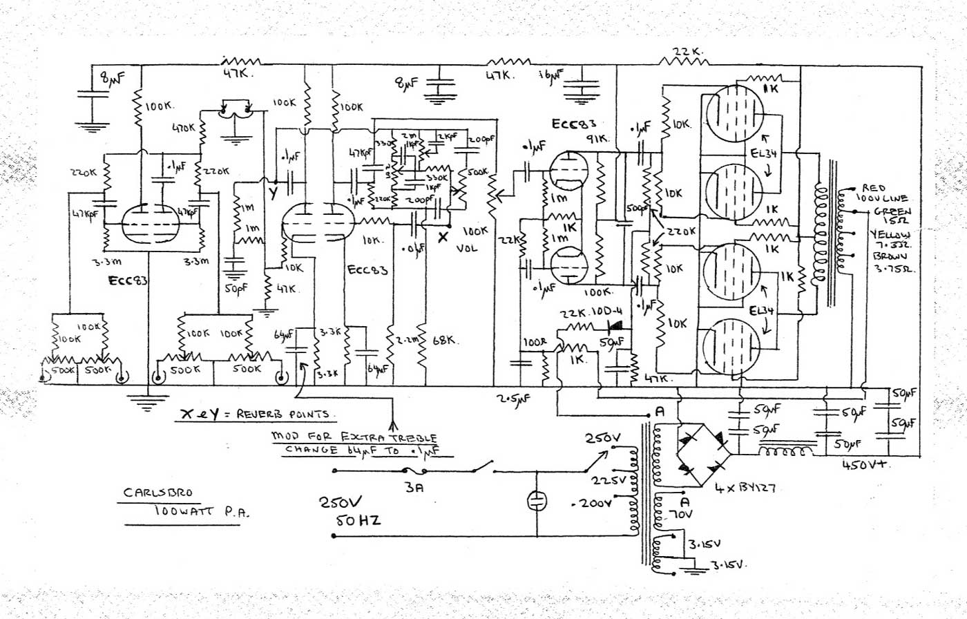 Pa 300 Wiring Diagram Speaker Diagram Wiring Diagram Odicis