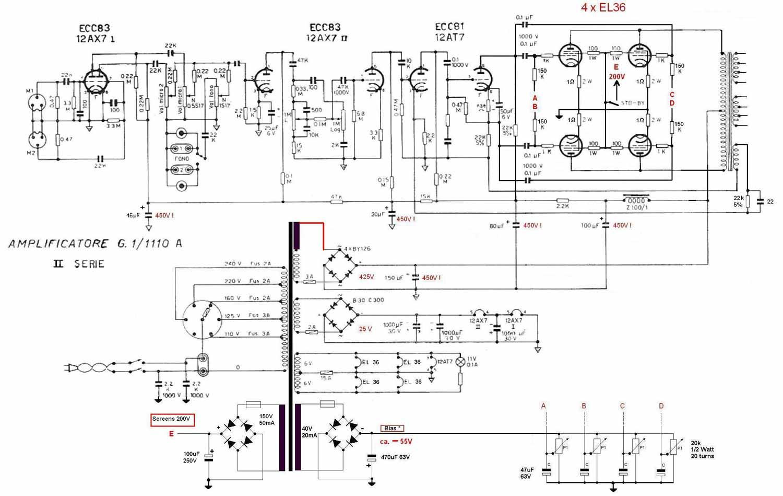 Conversion Of El503 Tube Amplifiers